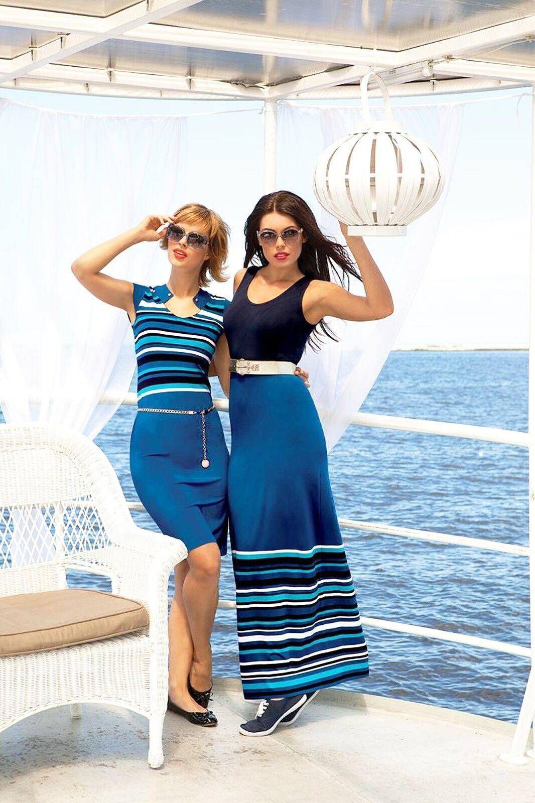 EUROPEAN LONG BELTED DRESS Summer PARTY Stretch Dress Maxi Sleeveless Dress