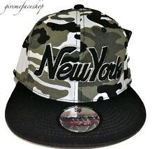 NY camuflaje gorra snapback,dope tyga béisbol visera plana entallado sombreros,