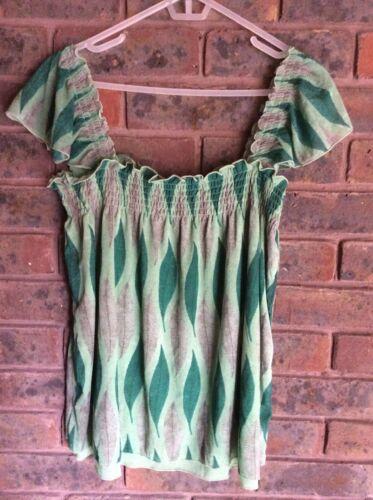 Tank Size Womens Green Cami Jeans M Top Dkny YOqaIfW
