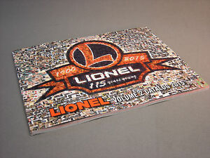 LIONEL 2015 TRAIN CATALOG SIGNATURE EDITION VOL 2 o gauge train dealer book NEW