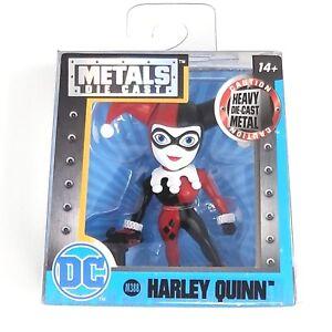 """METALFIGS DC HARLEY QUINN BLACK /& RED 2.5/"""" JADA METALS FIGURE TOY"""