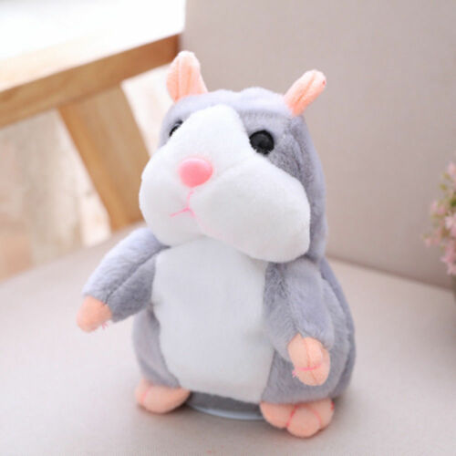 Cute Talking Hamster Electronic Plush Toy Mouse Pet Toy Gift For Children US