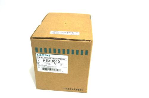 NEW SIEMENS HE3B040 CIRCUIT BREAKER