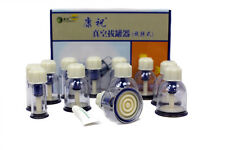 Chinese 12 Cups Vacuum Suction Healthy Massage Rotary Twist Cupping Set Kit