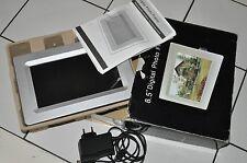 """NEU!! Argos 21,5cm (8,5"""") digitaler Bilderrahmen *Digital Photo Frame *NP £79.99"""