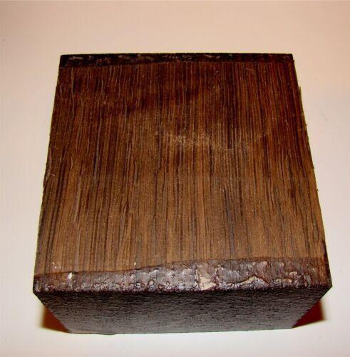 Eiche Räuchereiche 15x15x6,5cm Holz Klotz 1m=108,66€ drechseln Drechselholz