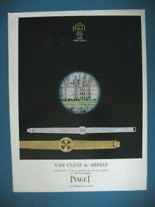 PUBLICITE-DE-PRESSE-PIAGET-MONTRES-MAITRES-HORLOGERS-VAN-CLEEF-amp-ARPELS-AD-1964