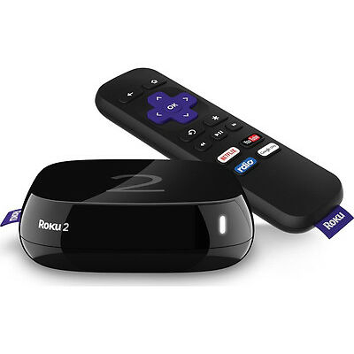 ROKU 4205EU HD Smart TV Box Built-in WiFi Stream content to Android & iOS device