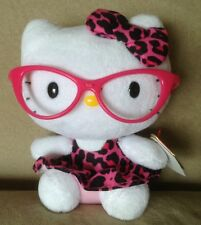 Hello Kitty ty Stuffed Animal Collectible Toy Cat with Glasses