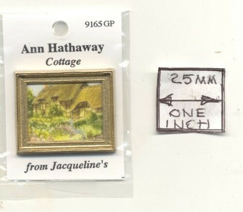 dollhouse miniature 1//12 scale 9165GP Cottage Ann Hathaway Painting