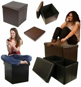 FAUX-LEATHER-OTTOMAN-STORAGE-BOX-BOXES-STOOL-TOY-CLOTHES-BEDROOM-LOUNGE-LIVING