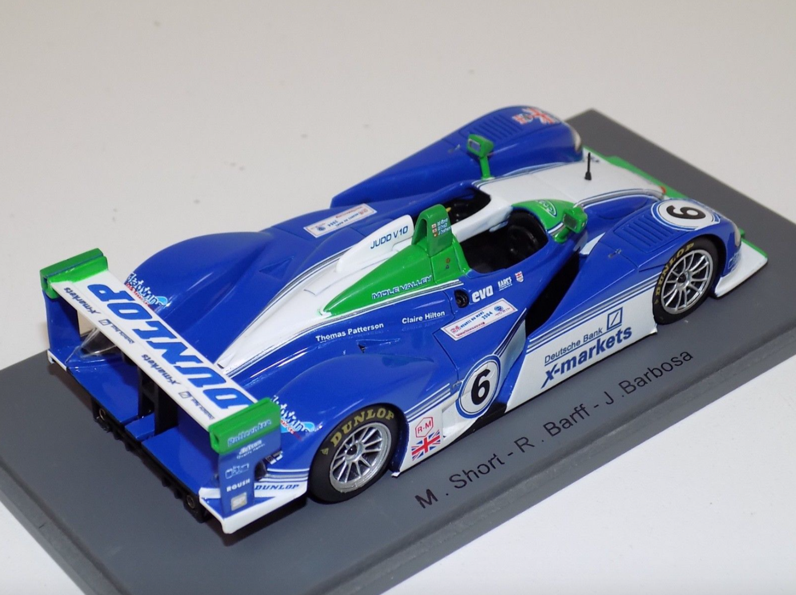1 43 Spark Dallara LMP LMP LMP Judd Hours of LeMans 2004 S0155 3d2970