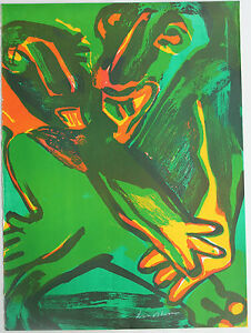Bengt-LINDSTROM-Lindstrom-Lithographie-lithograph-signee-Suede
