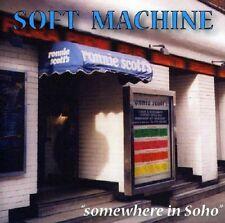 Soft Machine Somewhere In Soho Live 2-CD NEW SEALED 2004