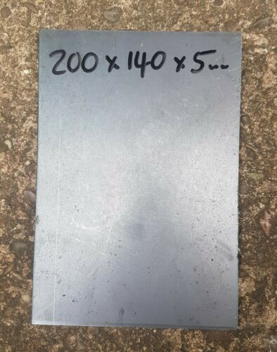 Mild Steel Plate 200mm x 140mm x 5mm.