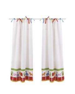 Ikea Children Curtains 1 Pair 2 Panels Barnslig Djur Kids Bedroom Nursery New Ebay