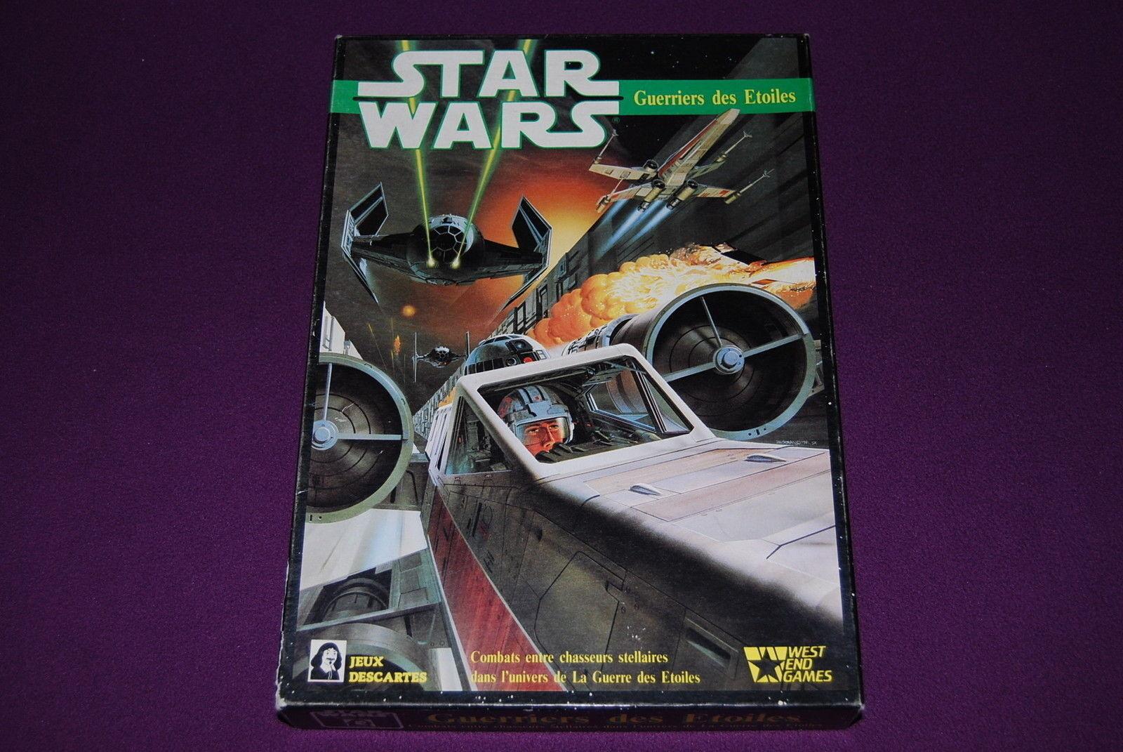 STAR WARS - Descartes - - - Guerriers des Etoiles   Combats Chasseurs Stellaires d3b6ef