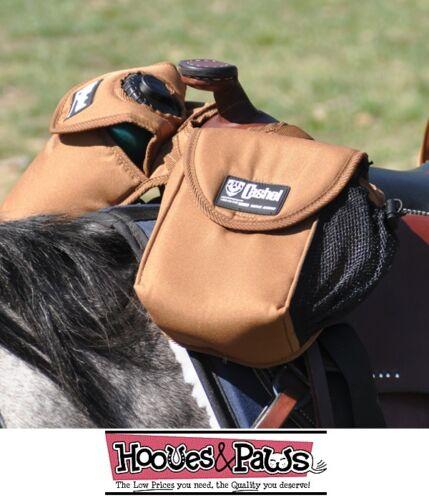 Cashel Heavy Duty BRN Horn Bag Saddle Water Bottle Lunch Bag Top Quality Horse