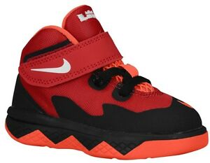 bdef04390ed00 TODDLER LEBRON JAMES NIKE SOLDIER VIII (TD) BASKETBALL SHOE SIZE 5C ...