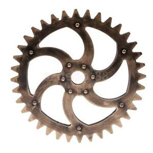 29cm vintage steampunk gear wheel interior wall art decorations best gift c ebay. Black Bedroom Furniture Sets. Home Design Ideas