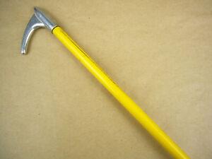 Sonderposten Show Stick mit Metal Spitze gelb ca. 130 cm No.1134