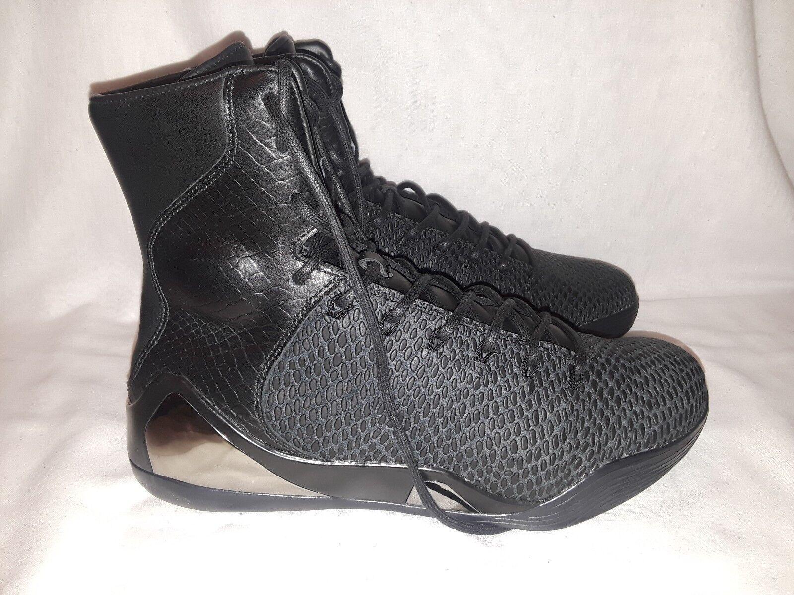 Men Nike Kobe 9 High KRM EXT QS Elite Black Mamba 11.5 shoes