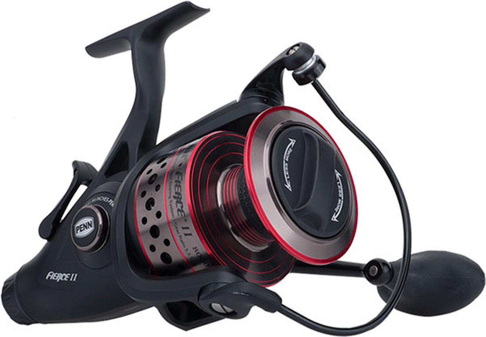 Penn FIERCE 2 II LIVE LINER  Bait Feeder 6000 Spin Fishing Spin Reel + Warranty  sale online discount