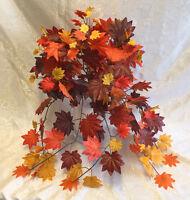 Fall Maple Ivy Bush Greenery Silk Wedding Flowers Arch Gazebo Centerpieces