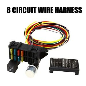 Hot Rod Circuit Universal Wiring Harness 8 - Data Wiring Diagrams