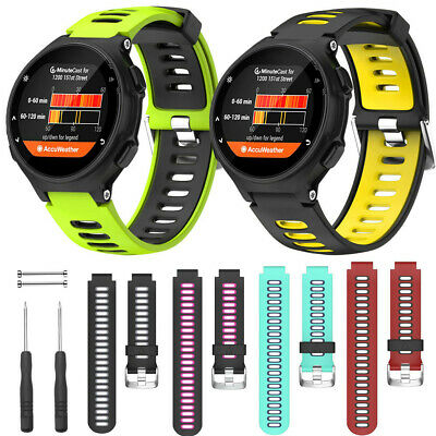 Weiches Silikon Uhrenarmband Armband Für Garmin Forerunner 735XT 620