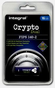 Crypto-doble-FIPS-140-2-encypted-16-GB-unidad-flash-USB-de-integral-para-PC-y-Mac