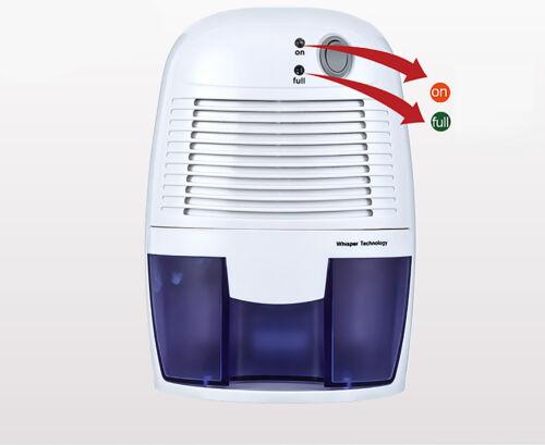 Mini Air Déshumidificateur Absorbeur d/'humidité 500 ml Réservoir D/'Eau Maison Chambre Cuisine