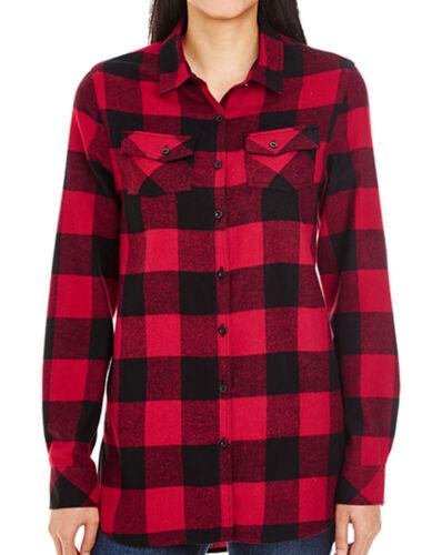 Damenbluse Bluse Freizeit S M L XL XXL 3XL Übergröße Flanell Holzfällerhemd