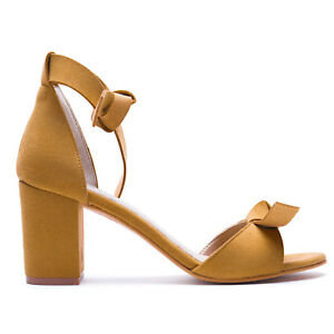 Woman-Vegan-Sandal-Middle-Chunky-Block-Heel-Peep-Toe-Ankle-Strap-Ecological