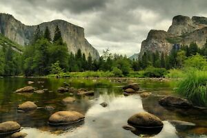 A1-Yosemite-National-Park-Poster-Art-Print-60-x-90cm-180gsm-America-Gift-8996