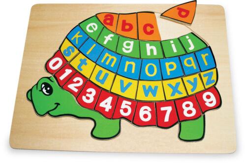Puzzle ABC SchildkröteKinder-Puzzle-Shop spielzeug-laedle Sonstige Holzspielzeug
