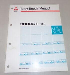 Taller-Manual-Mitsubishi-3000-Gt-Gen1-Cuerpo-Reparar-Manual-Von-1993