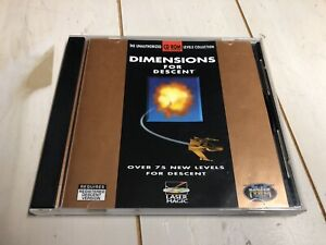 Dimensions For Descent (PC, 1995) 75 New Levels