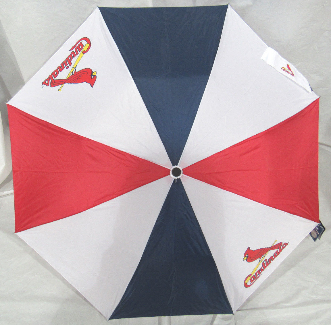 ecfe50b81286 McArthur Sports- MLB Auto Fold Umbrella St Louis Cardinals