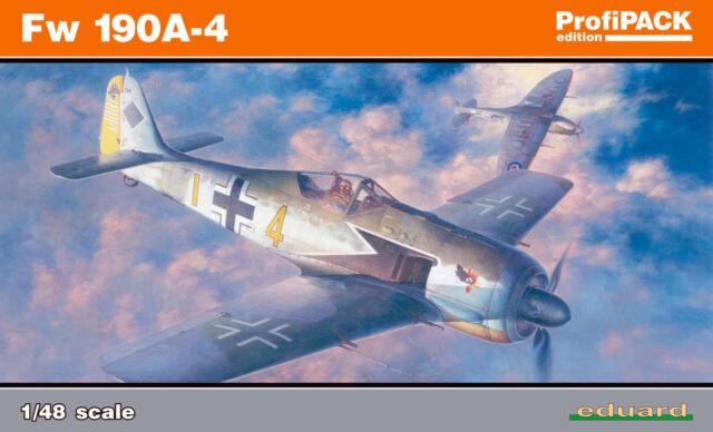 EDUARD 82142 WWII German Fw190A-4 in 1:48 ProfiPACK!