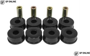 Land Rover P38 Range Rover Front Radius Arm Axle /& Chassis Bushes in Poly