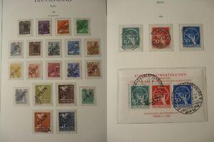 BERLIN-1948-1990-Sammlung-im-Vordruck-gestempelt-komplett-9300-Euro