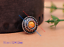 10X-Silver-Tone-Flower-Leather-Craft-Bag-Belt-Purse-Decor-Turquoise-Conchos-Set miniature 5