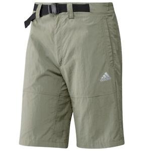 Adidas-Outdoor-HT-Shorts-Herren-kurze-Wanderhose-Terrex-Trekking-Hose-khaki-oliv
