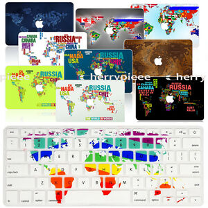 For mac macbook airpro 1315 retina hard case world map silicon image is loading for mac macbook air pro 13 15 retina gumiabroncs Choice Image