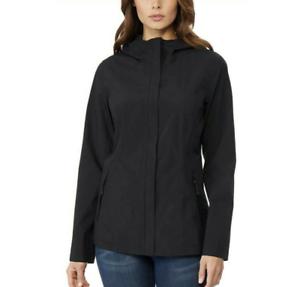 Black 32 Degrees Cool Women/'s Waterproof Rain Jacket