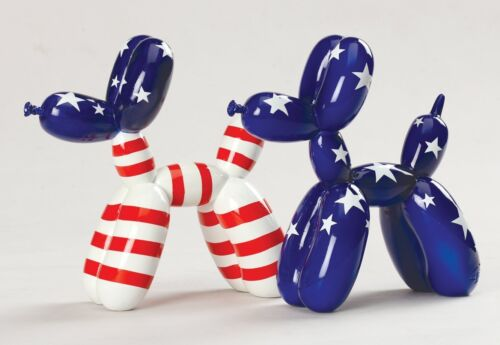 Choose Your Color /& Size! Resin Balloon Dog Animal Figurine BUPPIES