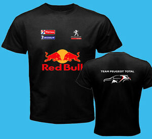 peugeot racing team dakar rally 2016 black t shirt s 3xl sebasien loeb sainz ebay. Black Bedroom Furniture Sets. Home Design Ideas