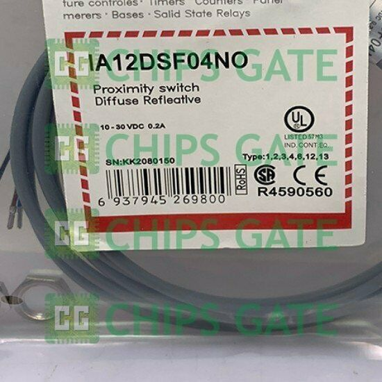 1PCS NEW Carlo Gavazzi Proximity switch IA12DSF04NO Fast Ship
