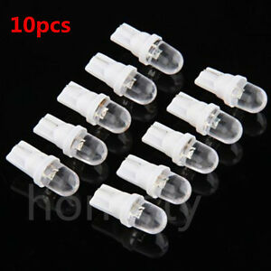 10Pcs 12V 5W T10 194 168 158 W5W 501 White LED Side Car Wedge Light Lamp Bulb